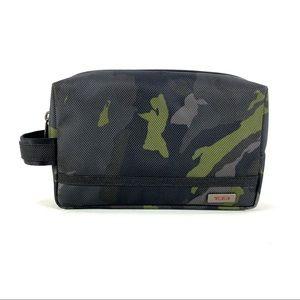 Tumi Medium Zip Travel Kit Avocado Green Camo